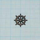舵輪(ブロンズメタル)11mm(最大直径14mm)画像