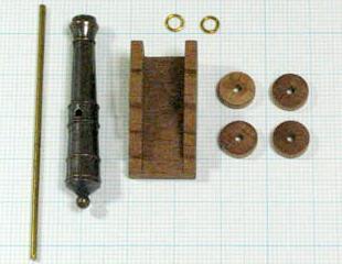 大砲キャリッジ付(Corel)45mm/1セット(1)の画像