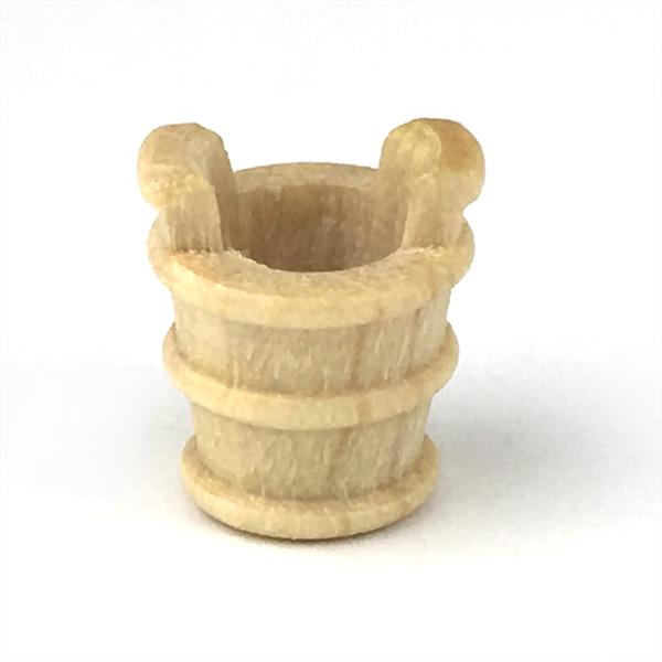 木製バケツ(2個)9mmの画像