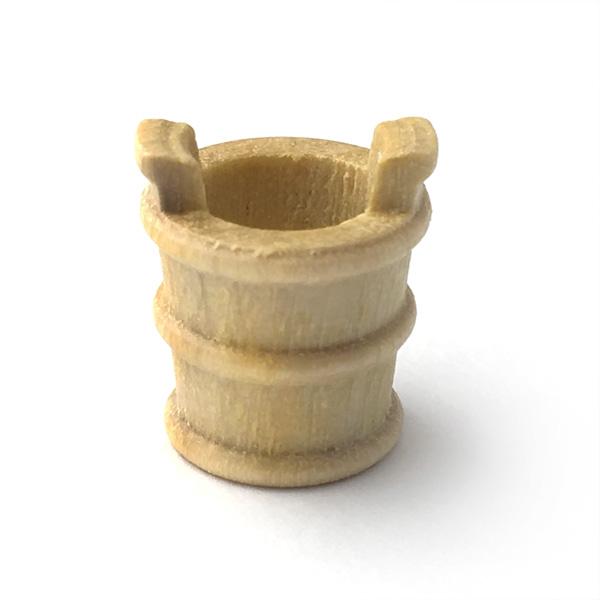 木製バケツ(2個)12mmの画像