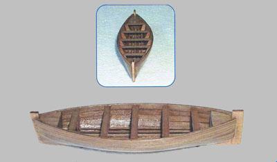 ライフボート(組立式)105×31×21mmの画像