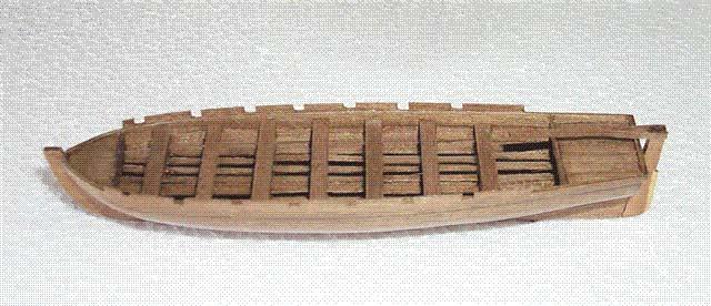 ライフボート(組立式)120×31×19mmの画像