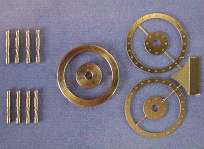 舵輪(組立式)17mmの画像
