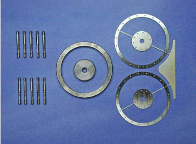 舵輪(組立式)24mmの画像
