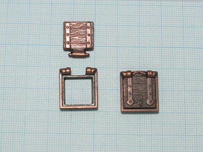 ガンポート(Mantua11×11mm)(10コ)画像