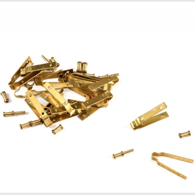 舵金具(真鍮)3-4mm 2個セット画像