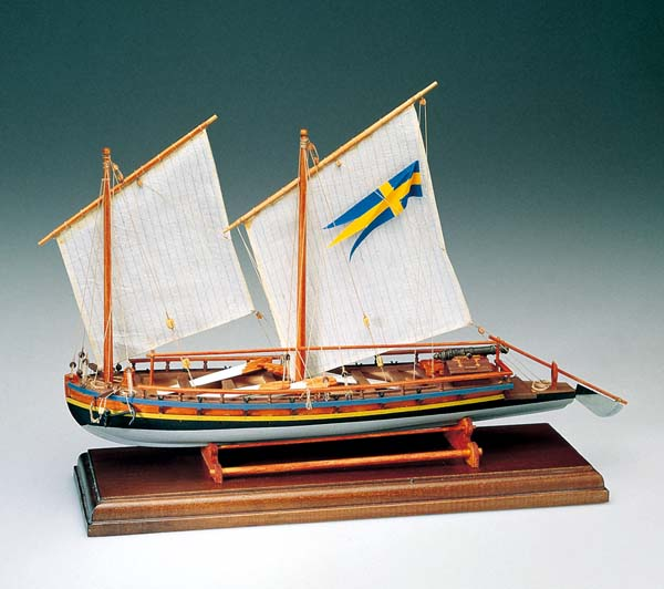スエーデンの砲艦の画像