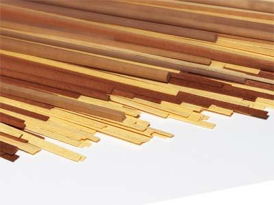 厚さ1mm板材(メープル/長さ950mm)の画像