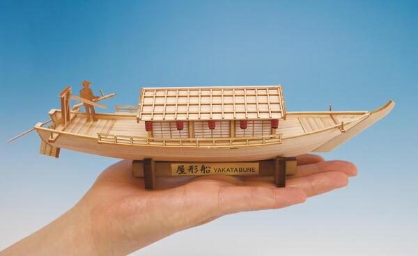 ミニ和船シリーズ 屋形船画像