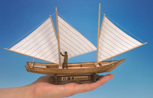 ミニ和船シリーズ 打瀬船の画像