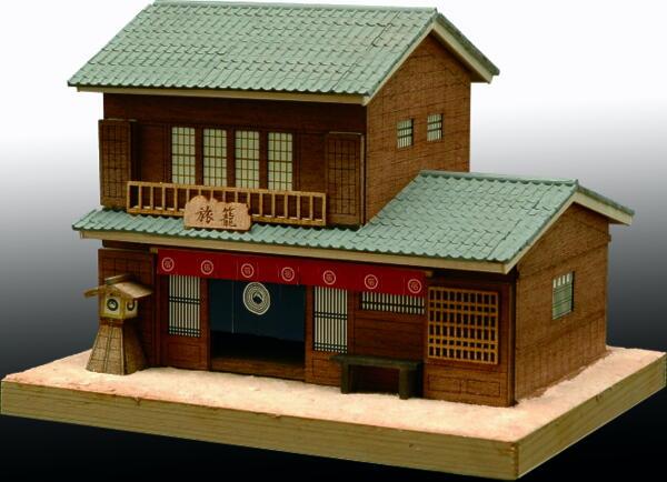 ミニ建築シリーズ NO.4旅籠の画像