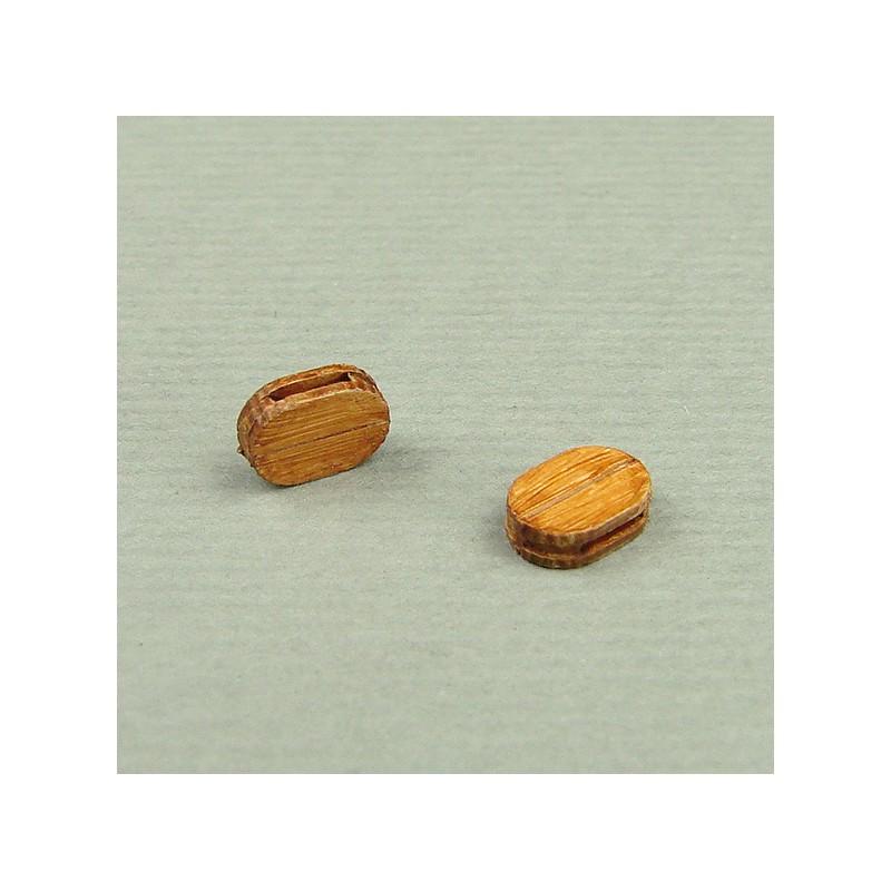 シングルブロック 4mm (20 pieces)の画像