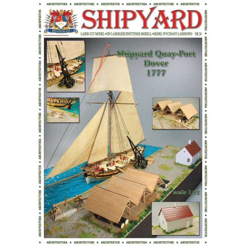 ドーバー港 1777画像