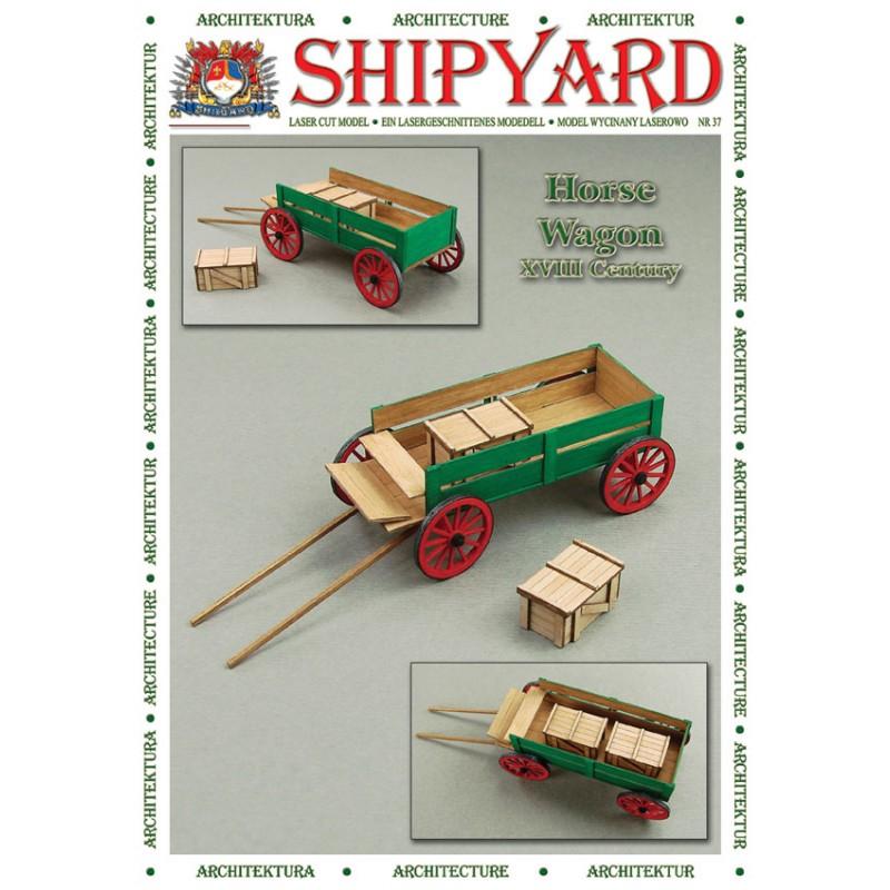馬車(ホースワゴン)画像