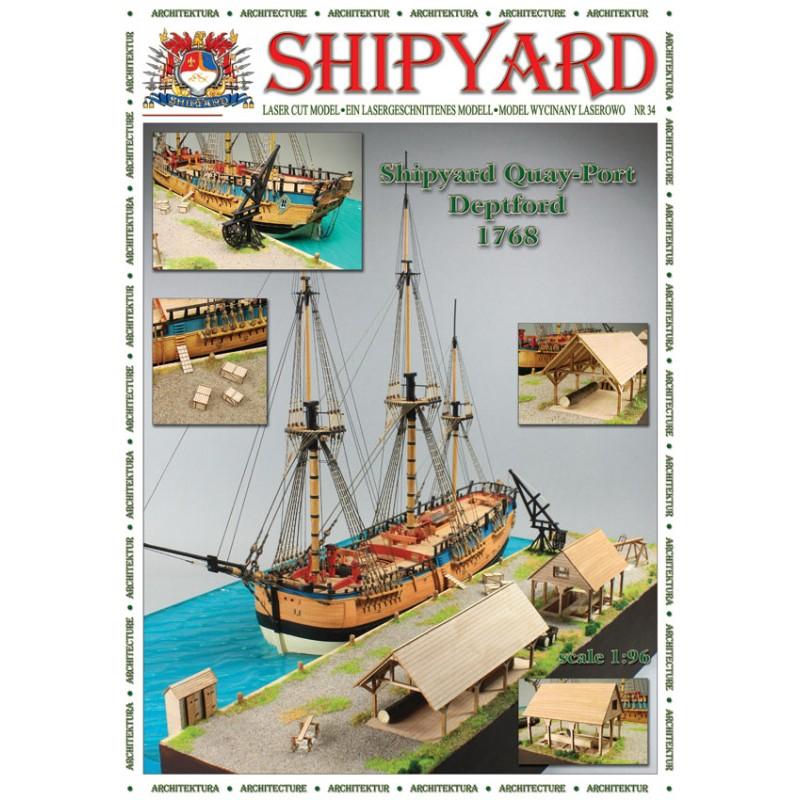 デトフォード港 1768の画像