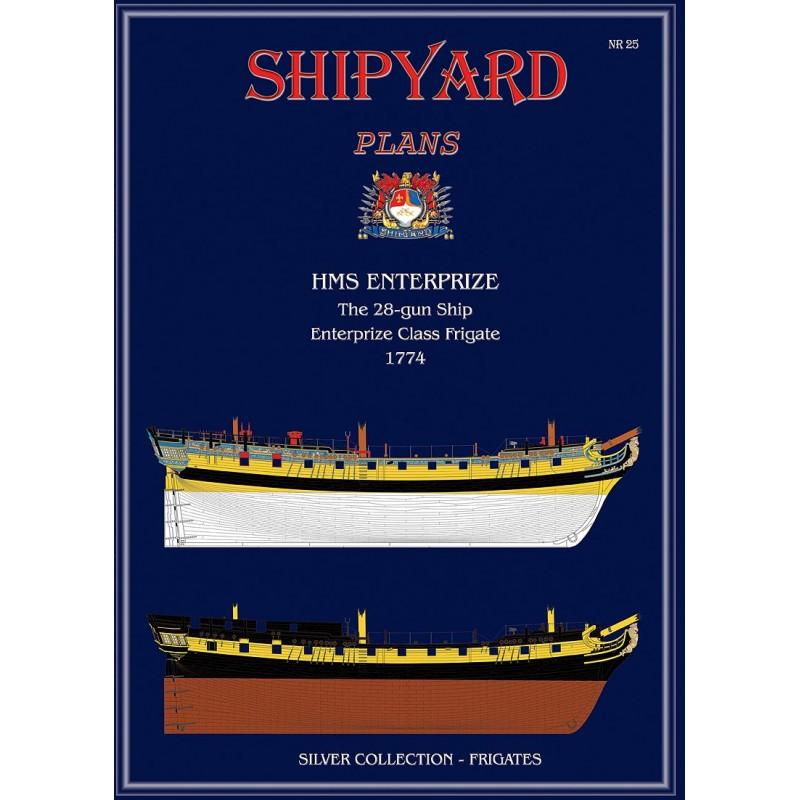 HMSエンタープライズ(図面)の画像