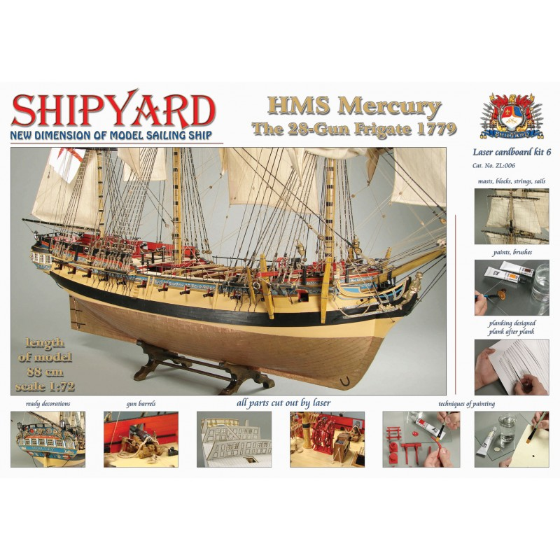 HMSマーキュリーの画像