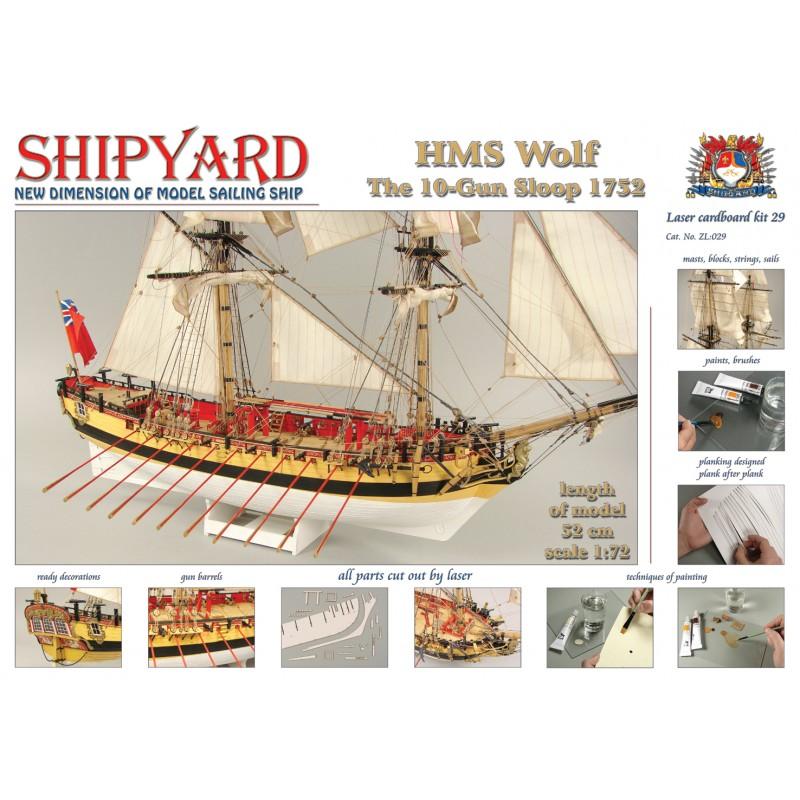 HMSウルフ(改訂版)の画像
