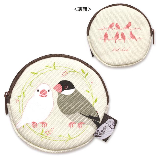 コインケース・文鳥の画像