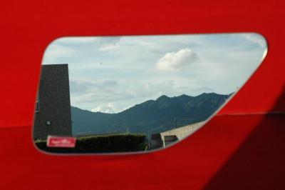 日野グランドプロフィア スーパーミラー安全窓の画像