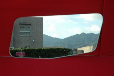 三菱NEWスーパーグレート スーパーミラー安全窓の画像