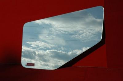 三菱NEWファイター スーパーミラー安全窓の画像