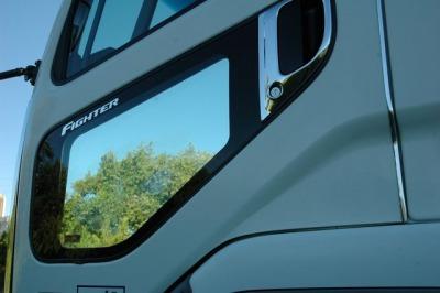 三菱ベストワンファイター スーパーミラー安全窓画像