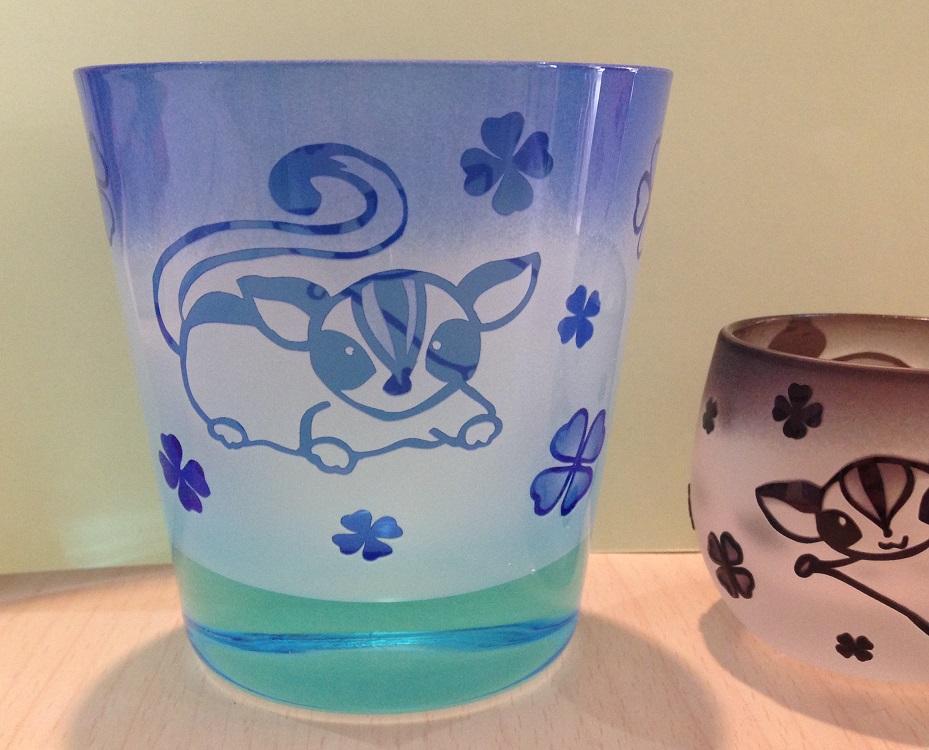 フクモモグラス・ブルー&水色の画像