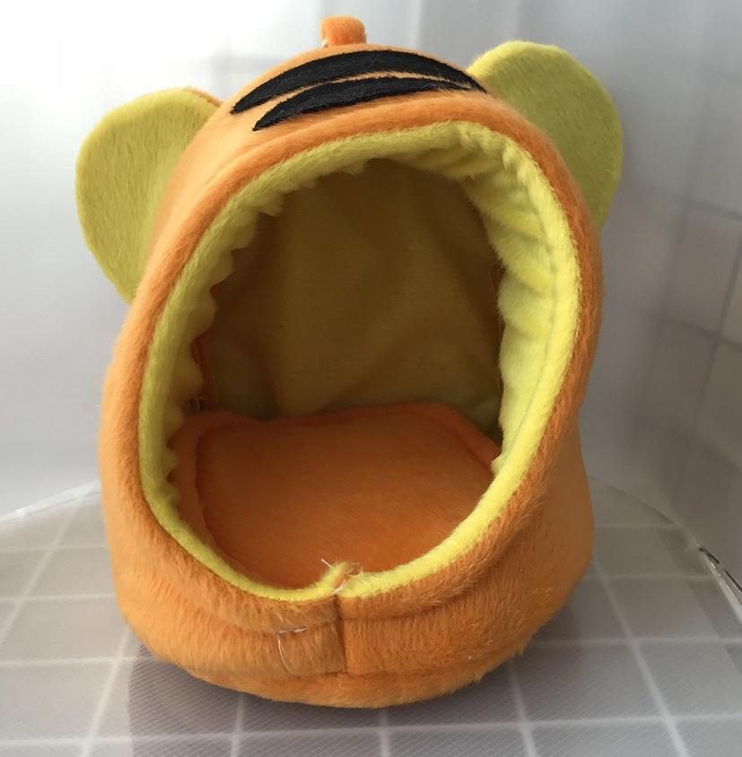 トラ風ポーチ オレンジの画像