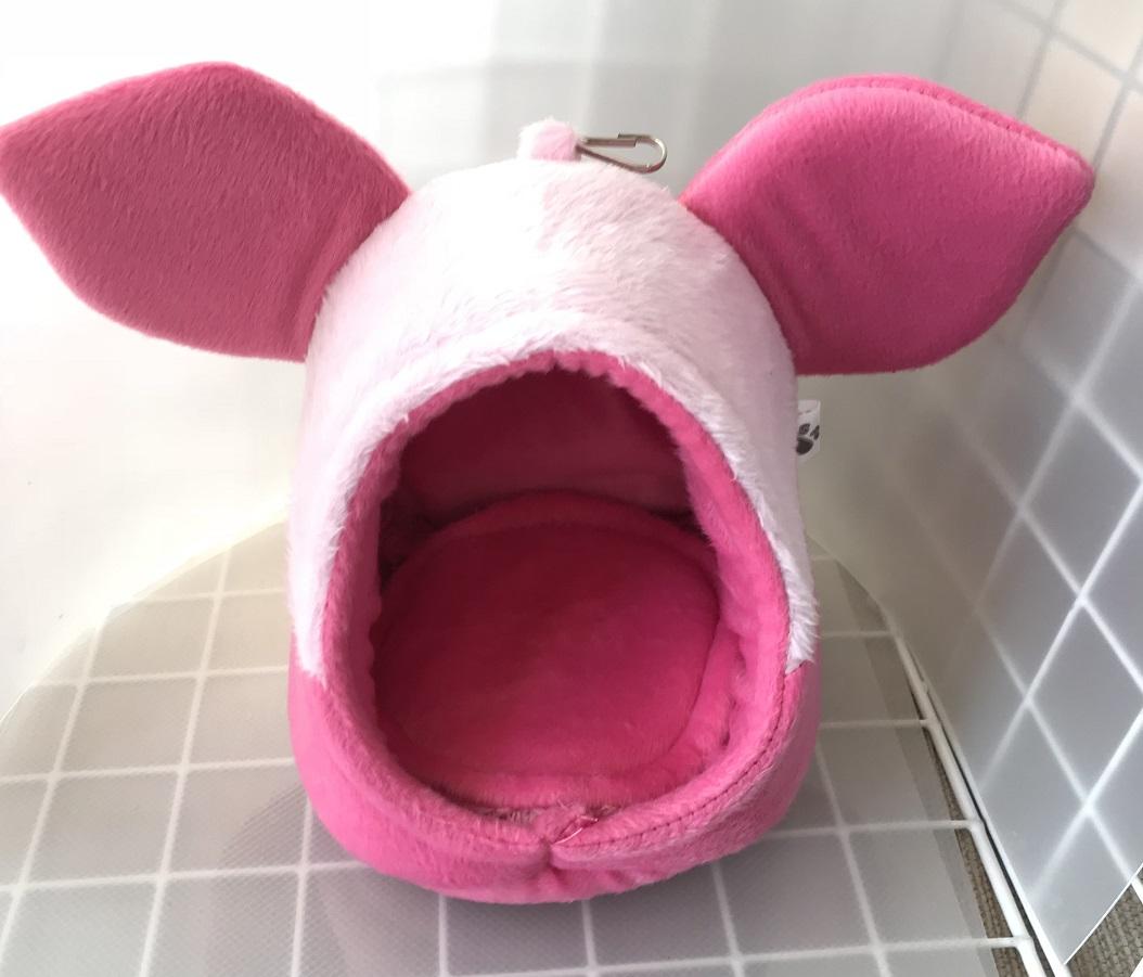 ピグ風ポーチ  ピンク 画像