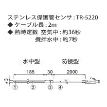 TR-5220 ステンレス保護管センサの画像