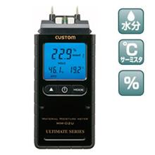MM-02U (デジタル水分計 温湿度機能付)の画像