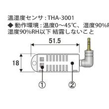 THA-3001 温湿度センサ画像