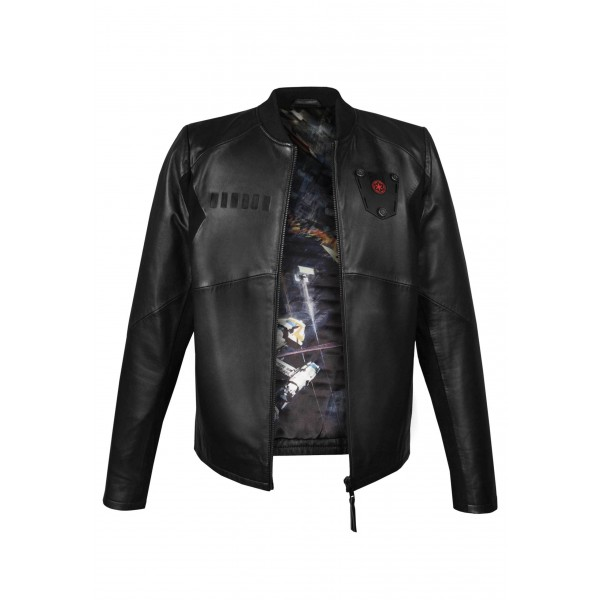 Tie Pilot Limited Edition Leather Jacketの画像