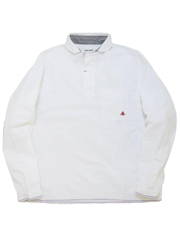 トリコロールセルビッチオックスプルオーバーシャツ(MADE IN JAPAN)の画像