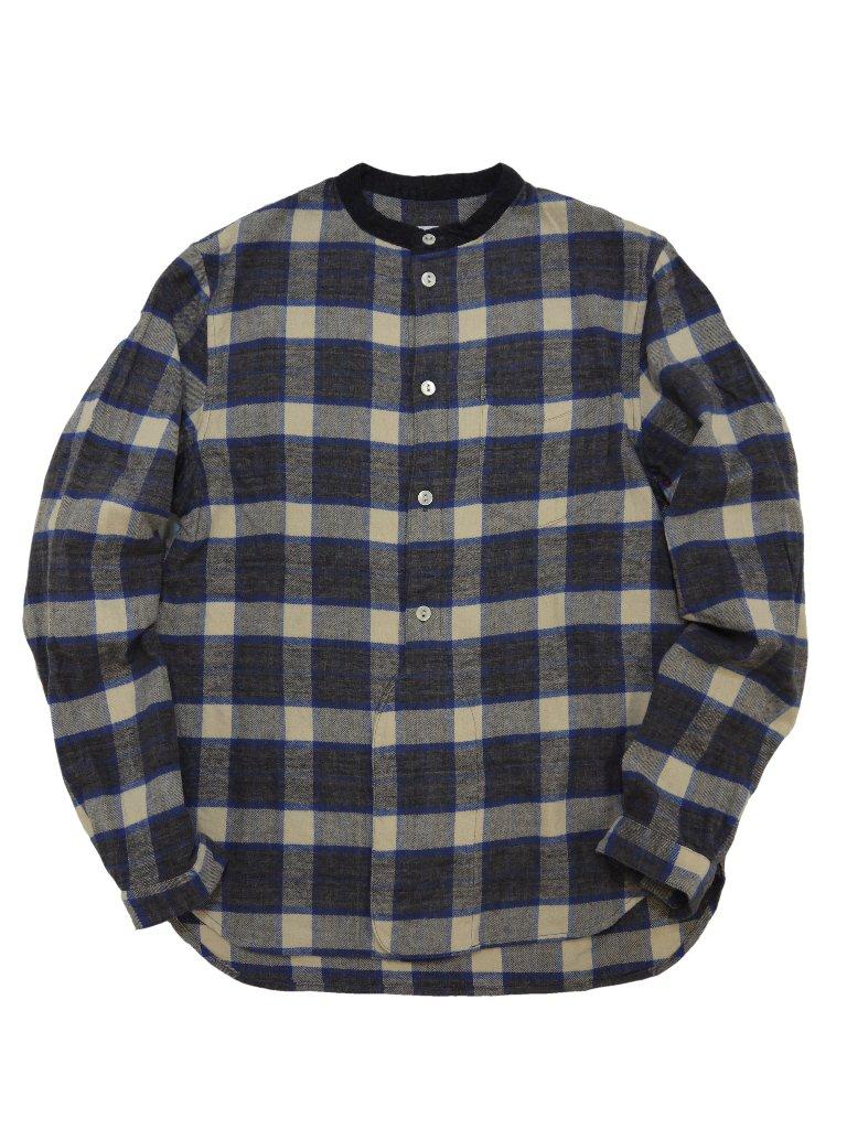 スペックビエラスタンドカラーシャツの画像