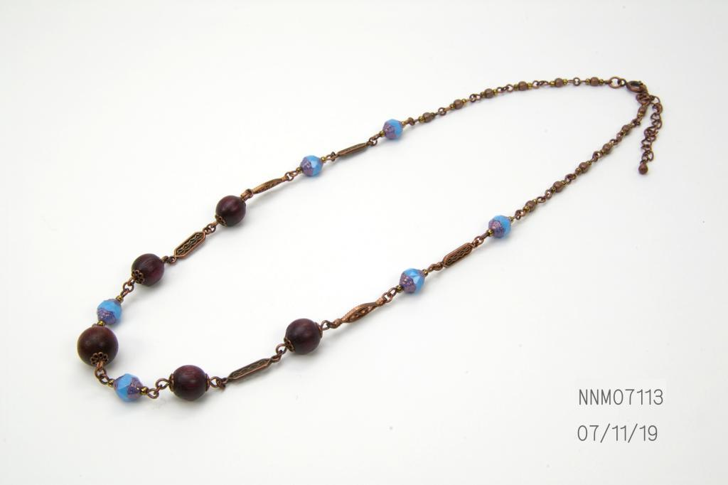 オリエンタルウッドネックレス の画像
