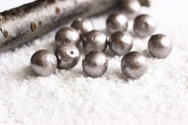 コットンパール-LTブラウン(煤茶銀)の画像