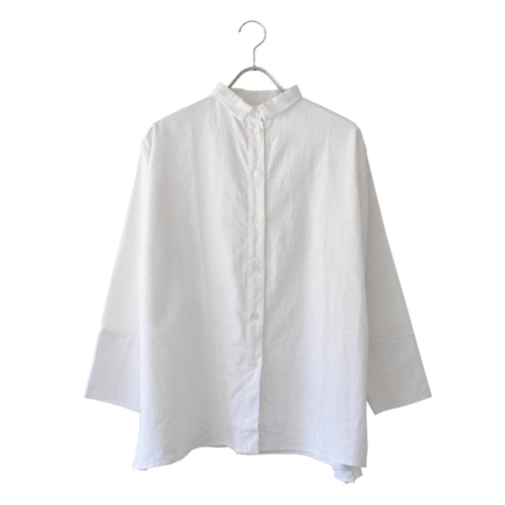 リネンAラインシャツ-sf-06の画像
