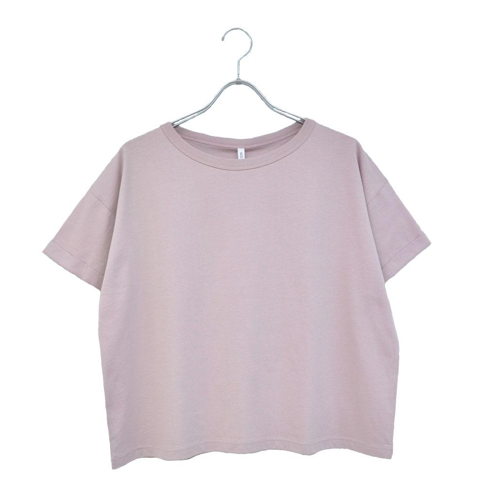 ロールアップ半袖Tシャツ-t20-08の画像