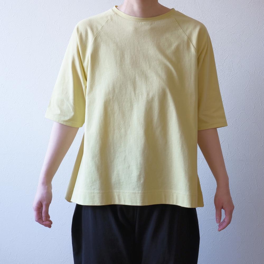 ラグラン五分袖-t21-08画像