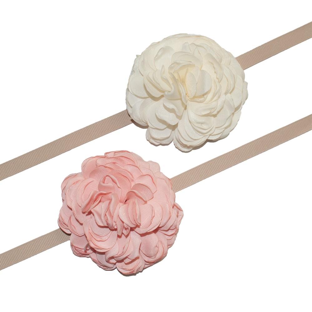 花モチーフリボン-wan-13の画像