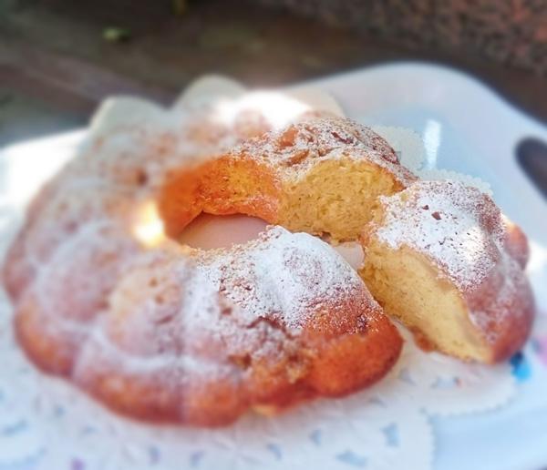 キャラメルアップルケーキの画像
