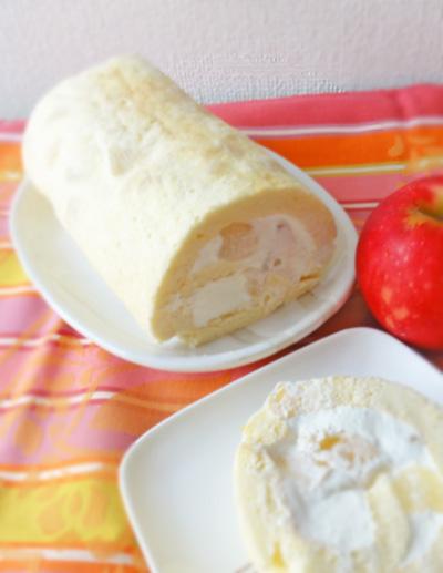 りんごのスフレロールの画像