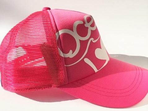 LOVEロゴキャップ ピンクの画像