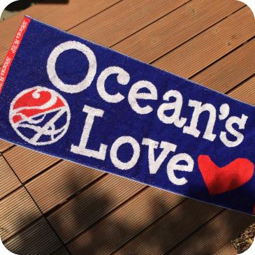 【コモノ】Ocean's Love+24karatsSURF コラボレーションハンドタオルの画像