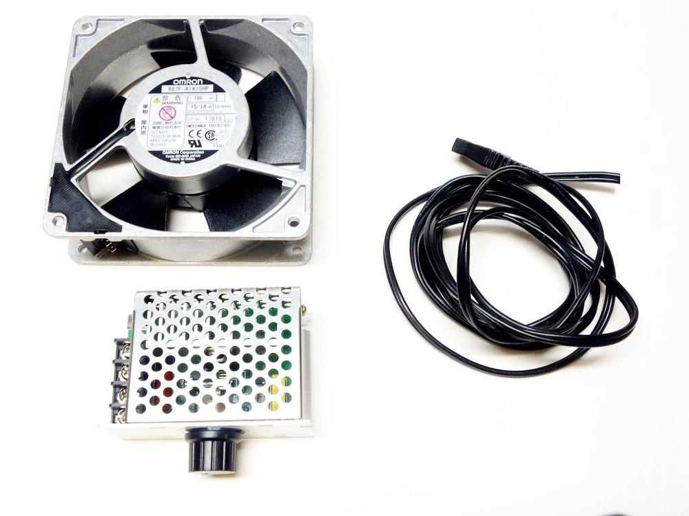 ファン+スピードコントローラーセット画像