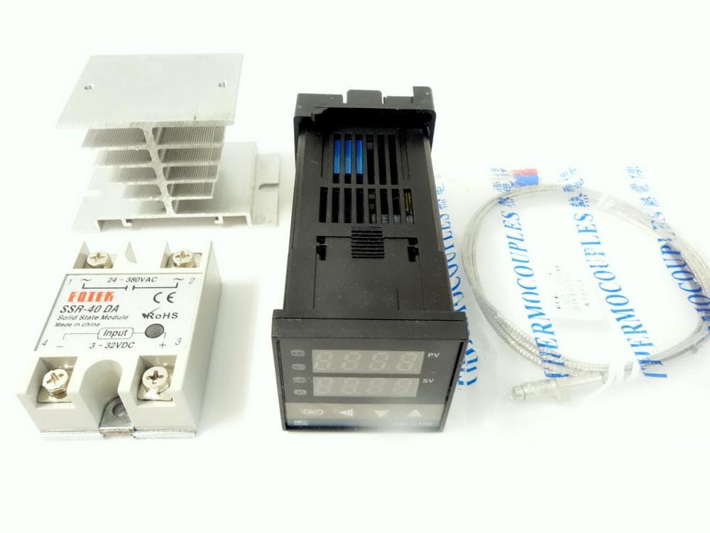 温度調節装置セット(温調装置+SSR+ヒートシンク+温度センサー)画像