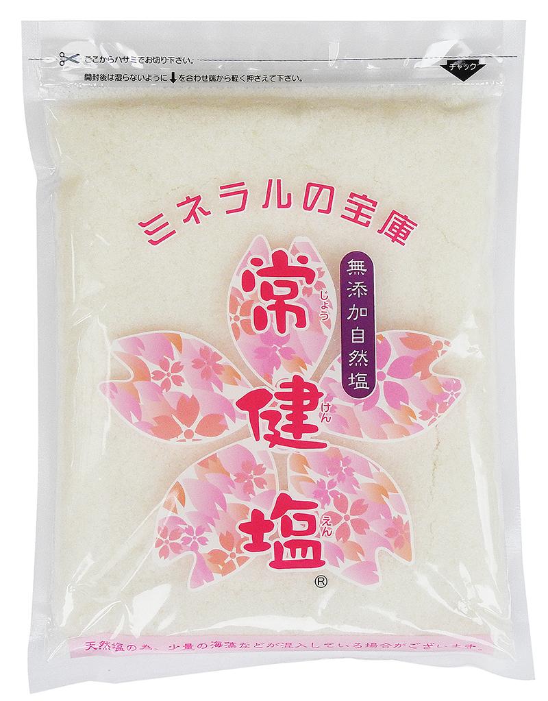 常健塩 1kg(無添加・自然塩)【送料無料】画像