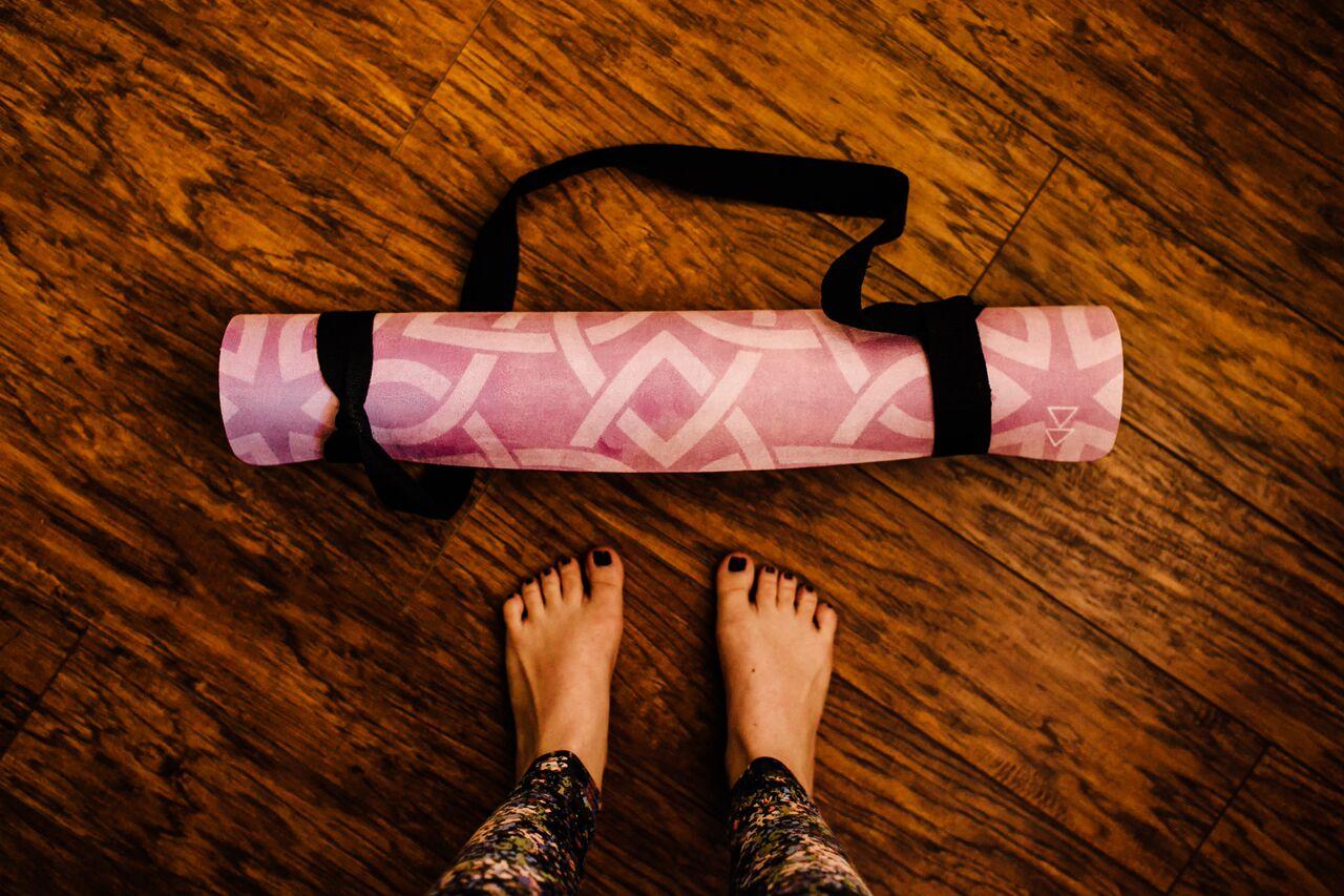 ヨガデザインラボ 3.5mm コンボマット Yoga design lab画像